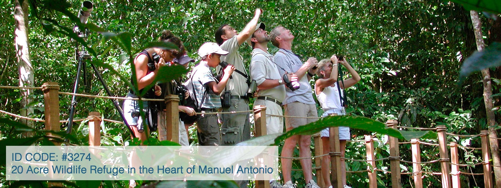 20 Acre Wildlife Refuge in the Heart of Manuel Antonio, A Conservationist's Investment Dream
