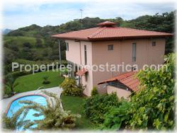 Atenas real estate, Costa Rica real estate, deals, opportunity, value, swimming pool, mountain views, gated community, nature, privacy, security, 2 level, story, for sale, 1875