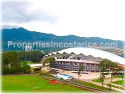 Sabana park Costa Rica, condo for rent, condo in tower, modern style condo, city and park views, national  stadium