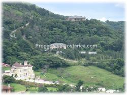 Costa Rica real estate, Escazu real estate, for sale, pool, mountain views, valley views,