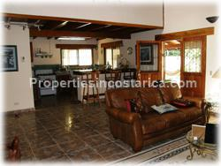 Costa Rica Herradura, Herradura Homes, Los Suenos, swimming pool, 2 level,