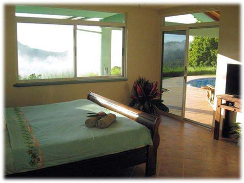 mountain view, near to the beach home, three bedroom real estate, home within private place