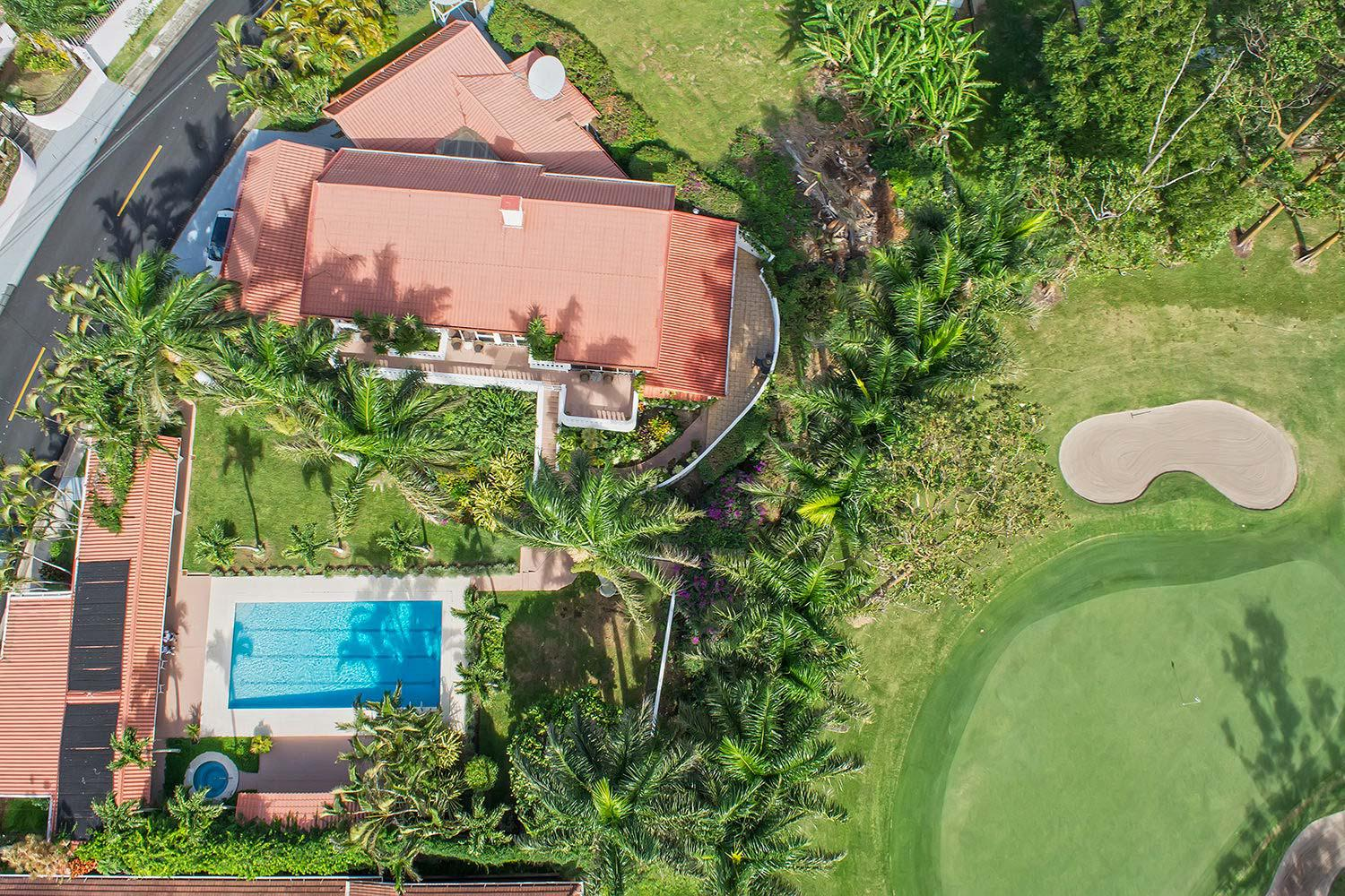 Steal of a Deal! Magnificent Golf Front Villa with Guest House and Private Pool