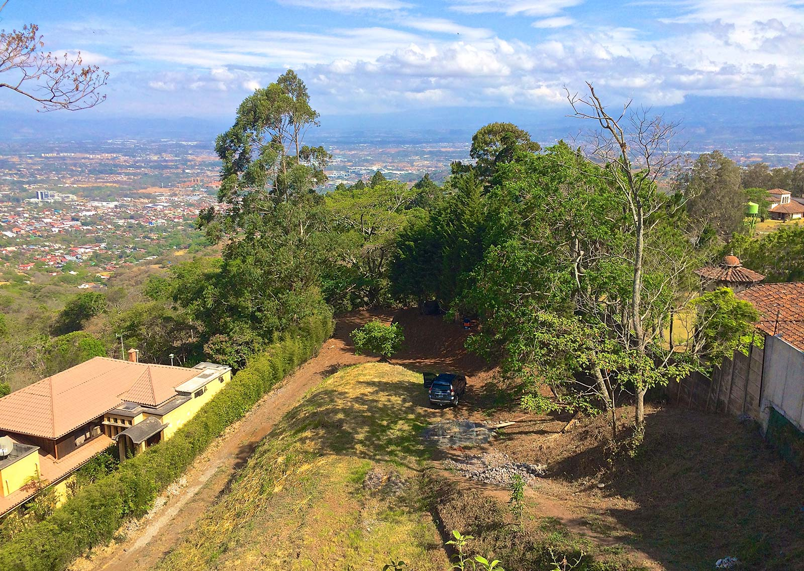 WOW!!! View Lot for Sale in Gated Community, Best Value in all of Escazu and Santa Ana!