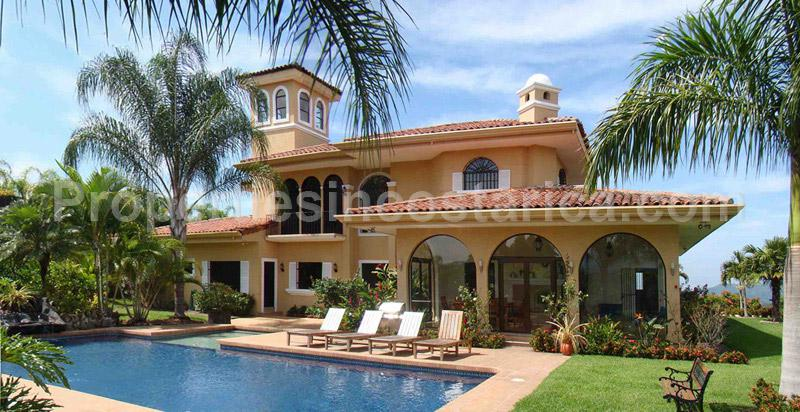 Spanish style estate villa for sale in la garita id code for Spanish style home for sale