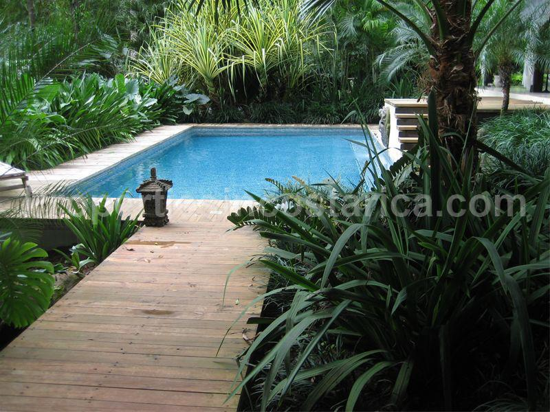 Asian style home for sale in uvita for Pool design costa rica