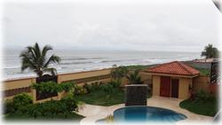 Bajamar Costa Rica, Costa Rica beachfront homes, for sale, swimming pool, titled beach property, Bajamar real estate