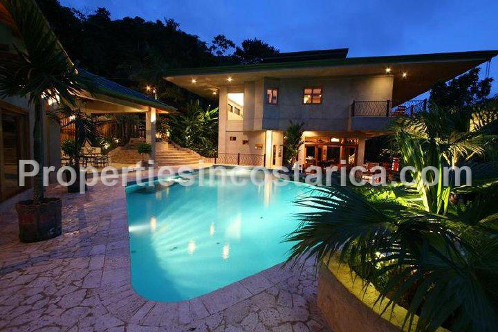 3 level rainforest villa for rent in manuel antonio id for Vacation homes for rent in costa rica
