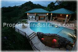 Costa Rica vacation villa, rainforest vacation home, Manuel Antonio, swimming pool, jungle villa