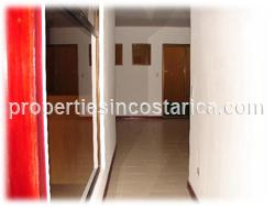 Alajuela for rent, airport, short walk, park, 2 bedrooms, 3 bedrooms, furnished, wireless internet, maintenance, parking, pool, Alajuela real estate, modern, spacious, 1038