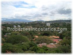 Escazu condo, condo for sale, Paco, mountain view, city view, brand new