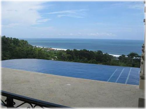 ocean view, central pacific, custom homes, beach, close to the beach, 8 bed home, infinity pool, pacific ocean views,