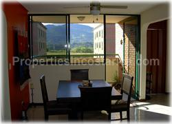 Alajuela apartment, for sale, pool, green areas, private, secure, modern, comfortable, 1605