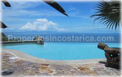 Costa Rica real estate, Dominical Costa Rica, Dominical foro sale, luxury home, swimming pool, ocean view, furnished