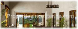 Wood beams, Golf, beach, Costa Rica, tile roofs, Spanish, colonnial, ranch, hacienda, old style, modern, A/C,