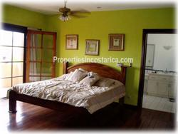 Costa Rica real estate, Cariari for sale, Bosques dona Rosa, near golf, two level, two story, detached, furnished, appliances, equipped, maids quarters, 1867