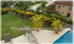 Puntarenas ocean view, gated community property, ocean view, terrace, sportfishing, Los Suenos for sale, classical, colonial architecture, golf, marina, national reserve, forest, beach club, security, 1463