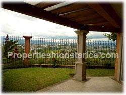 Costa Rica real estate, for rent, Escazu for rent, Escazu gated community, townhouse, panoramic valley views