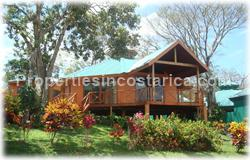 Arenal for sale, Tilaran area, lakefront home, luxury, wood, custom, 1574