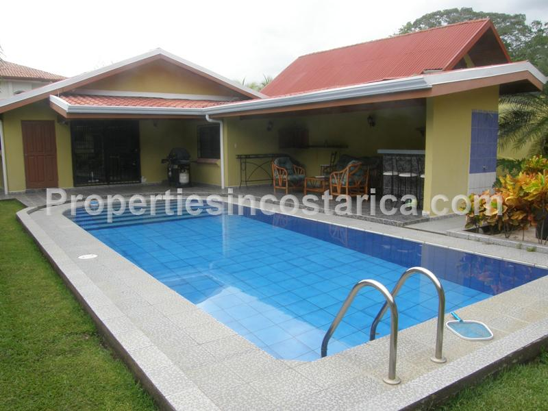 Single family home with pool in herradura id code 1950 for Four bedroom house with pool