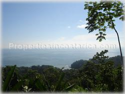 Lot for sale, Dominical lot, investment, opportunity, views, surfing, flat area, hill, ocean, Pacific, residential lot, 1475