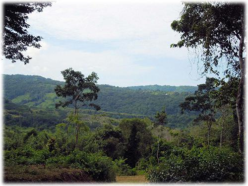 lands for sale, possible eco-community, valley view lands to build, near to beach real estate land