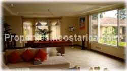 Escazu home, fully furnished, equipped, appliances, Jaboncillo, for sale, for rent, stainless steel, large windows, terrace, jacuzzi. luxury, 5 star, views, family room, ample, large windows, 22