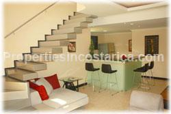 Costa Rica real estate, for rent, penthouse rentals, fully furnished, gated community, avalon santa ana