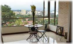 Costa Rica real estate, Escazu condos for rent, Costa Rica luxury condos, city views, condo rentals Costa Rica, appliances included