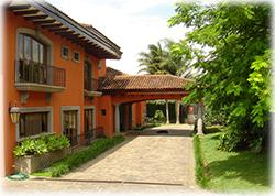 Luxurious Mansion, Swimming Pool with jacuzzi, BBQ Ranch, Social Areas, mansion for sale in costa rica, luxury home in santa ana, High ceilings, canyon views, house for sale in exclusive community