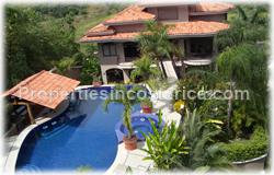 Costa Rica luxury, luxury home, for sale, helipad, pool, large, guest house, location, security, views, furnished, appliances, satellite, 1633