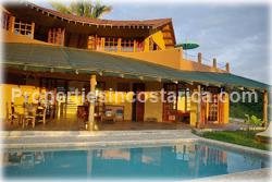Mal Pais Costa Rica, Mal Pais villas, for rent, Mal Pais vacation home, swimming pool, oceanview, balinese