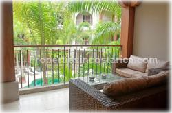 Jaco Condo, mediterranean style, 2 bedroom, pool,  beachfront complex, private access, Jaco for sale