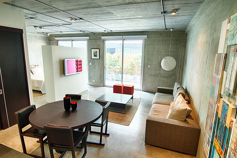 Modern Loft Stil ~ Avenida escazu loft condo for rent fully furnished id