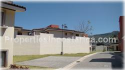 Ciudad Colon townhouses, for sale, gated community, swimming pool, private, secure, pool, green areas, bbq, 1645