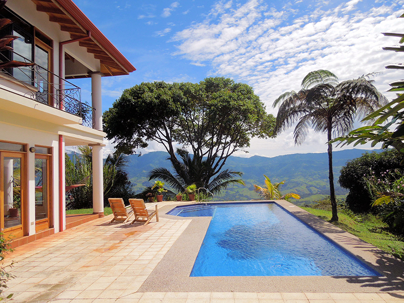 Costa Rica Real Estate For Mountain Homes Dominical