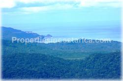 Mountain ocean view land, Costa Rica ocean view lots, eco residential development, development land for sale, Costa Rica land for development, Orotina real estate, Gulf view land, Pacific ocean views