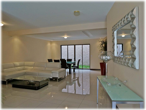 San Jose, furnished, rentals, 3 bedroom, suite, for rent, fully equipped, townhome, gated community, san francisco de dos rios, 24/7 security,
