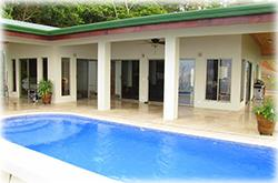 oceanview house, beach home for sale, seaside home, costa rica real estate, beach real estate, tropical house, jungle view