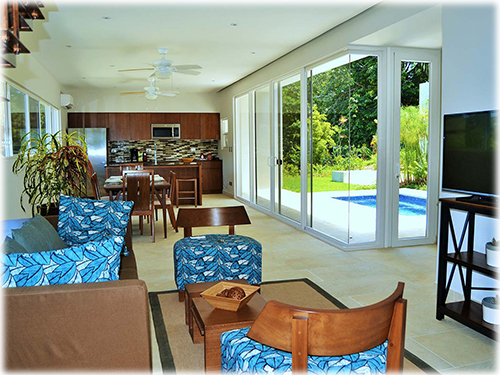 ocean view, villas, for sale, south pacific, dominical properties, beach, close to the beach,