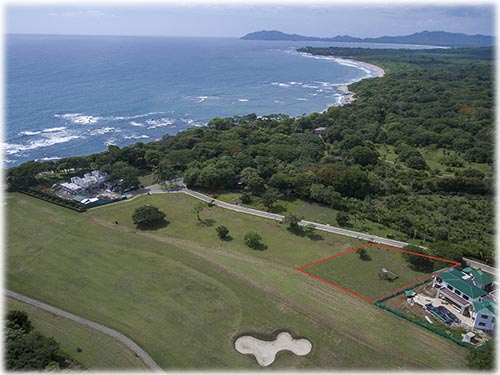 Ocean-view and Golf front building lot at Guanacaste's Gold Coast.       - ID CODE: #3370