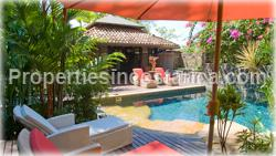 Ocean View 5 Level Balinese Villa in Manuel Antonio Beach