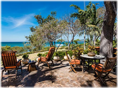 Enjoy panoramic ocean views and the gentle sound of breaking waves while you relax in this beautiful, unique home
