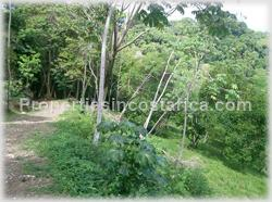 Lot for sale, Dominical ocean view lot, residential lot, Dominical real estate, Dominical Pacific ridge, Costa Rica ocean view land, airport, beachm internet service, 1476