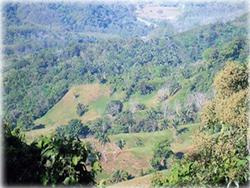 costa rica real estate, for sale, residential lots, mountain, dominical real estate