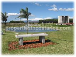 Alajuela condo, Alajuela real estate, Costa Rica condominium, parking, swimming pool, granite countertops, for sale, two bedroom, internet, Cable TV, new highway, 24/7 security, maintenance, gardens, 1079