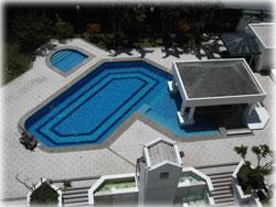 Escazu Costa Rica, Escazu condos for rent, gated community, swimming pool, tennis court, Escazu rentals