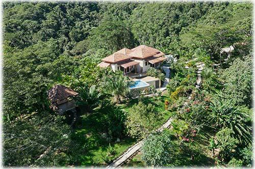 Costa Rica Private Ranch, for sale, Nicoya Peninsula, Panoramic views, forest, reforested teak trees, farm land, development land, river, creeks and Waterfalls...