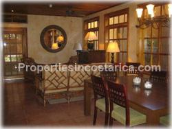 Tamarindo villa, Spanish style, fountain, for sale, investment, furnished, pool, beach, real estate, 1621
