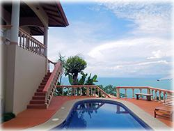 costa rica real estate, for sale, ocean view homes, ocean view, homes, condos, dominical real estate, properties in dominical, beach
